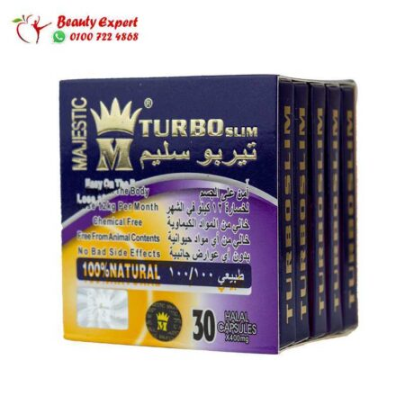 Turbo slim Majestic slimming 30 capsules