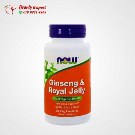 Ginseng & Royal Jelly, Now Foods, 90 Capsules