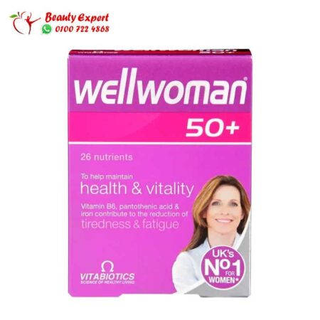 Vitabiotics Wellwoman plus 50 30 Tablets