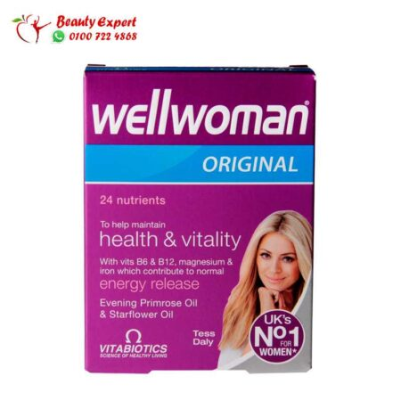 كبسولات ويل ومن اوريجنال – 30 كبسولة | Vitabiotics Wellwoman original