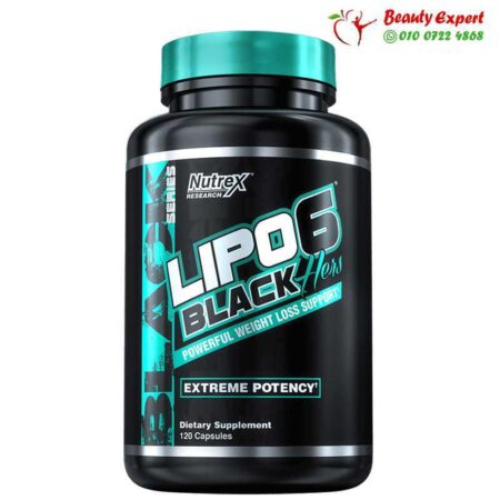 Lipo-6 Black, Hers, Extreme Potency, Nutrex Research, 120 Capsules